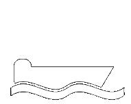 White Boat Icon