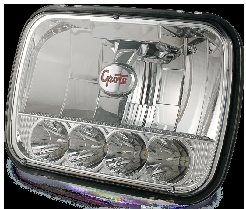 Faro delantero LED Grote de 5x7