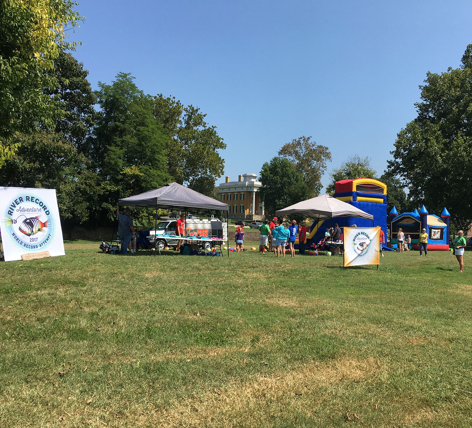 The River Record Adventure party that took place in Madison, Indiana