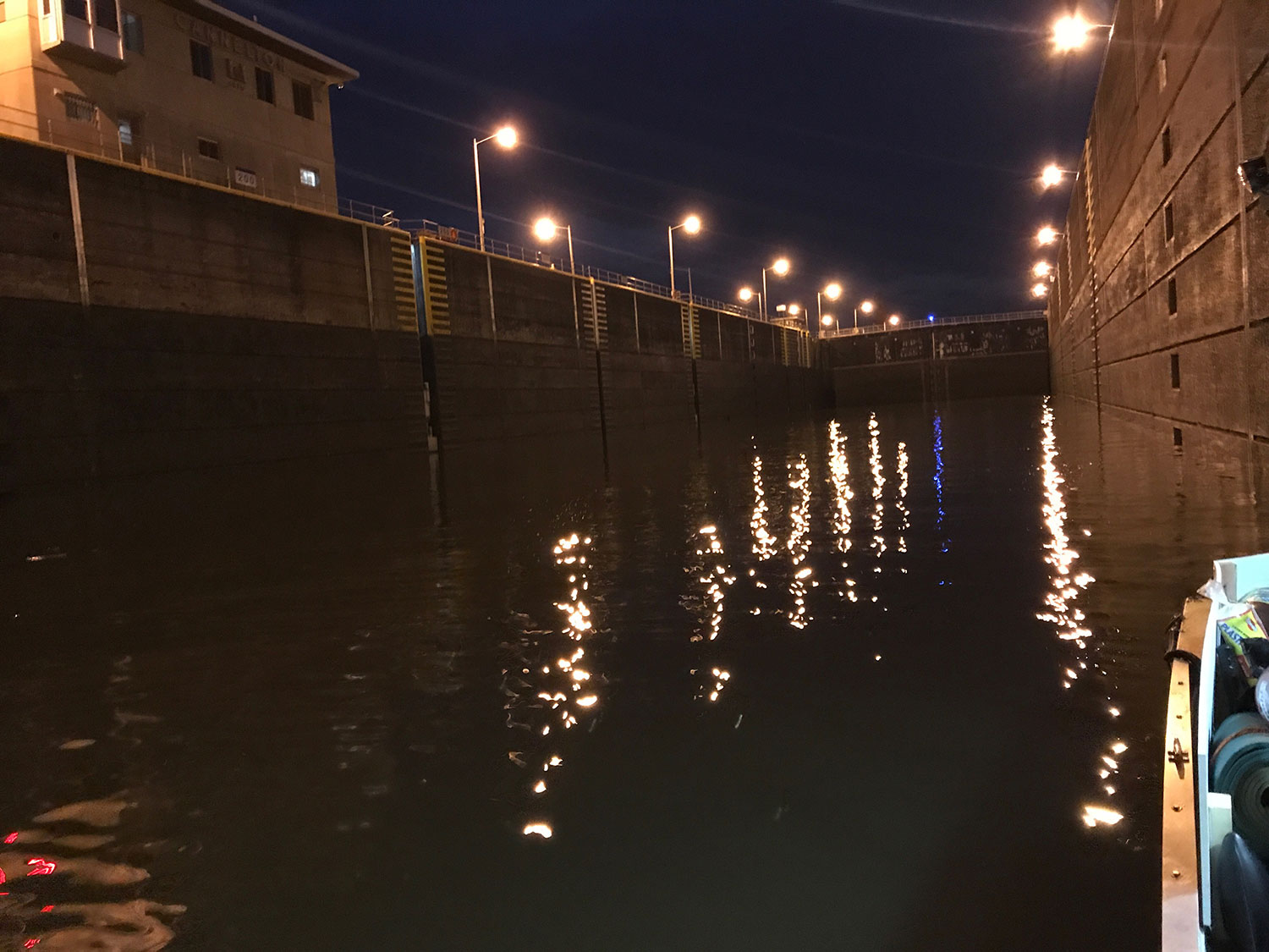 Marc Phelps's view of cannelton locks on the Ohio River