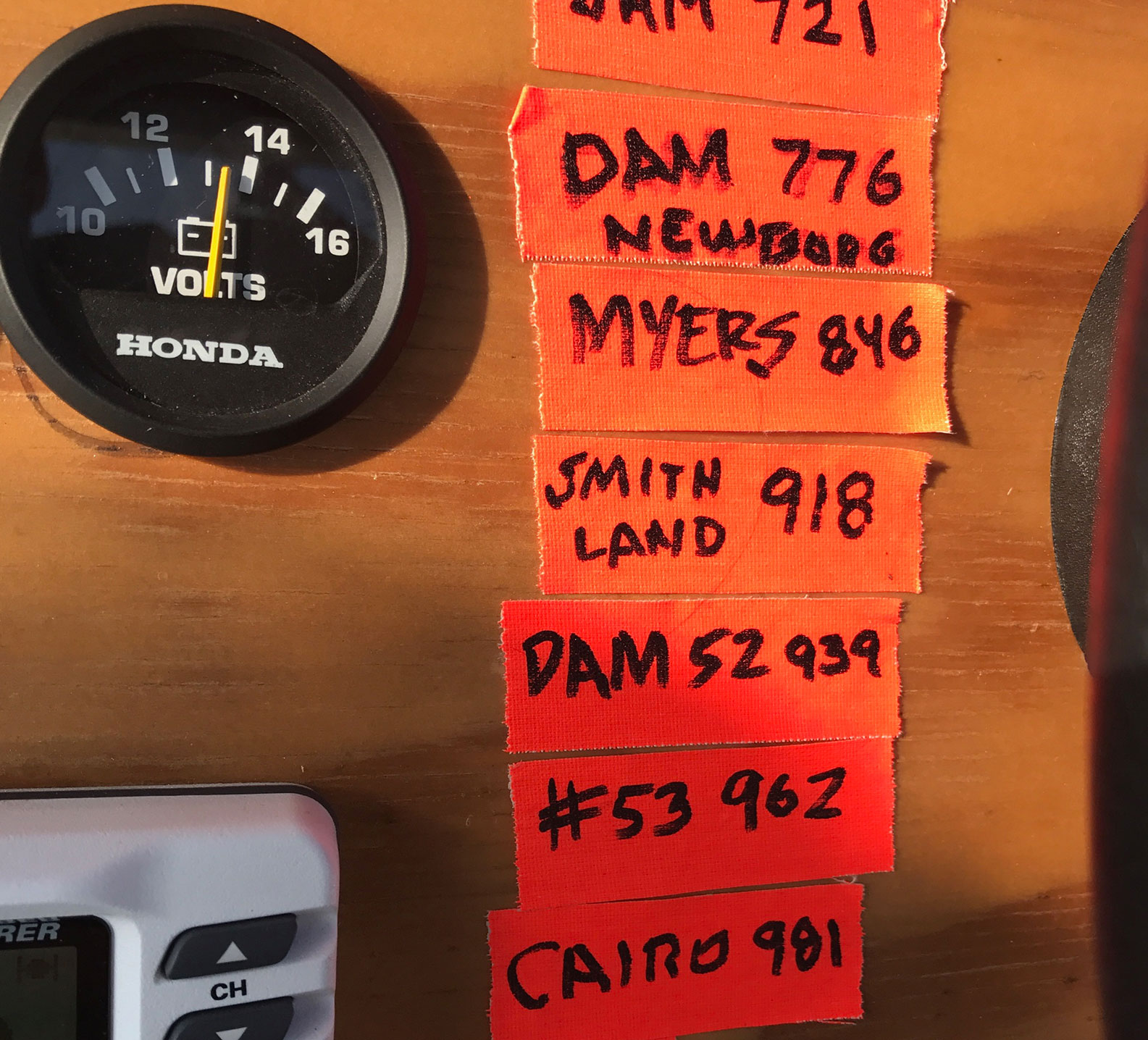 Marc Phelps's running list of locks he's gone through