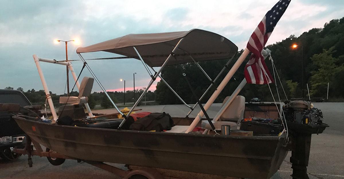 Mayor and Muffler Meat's boat