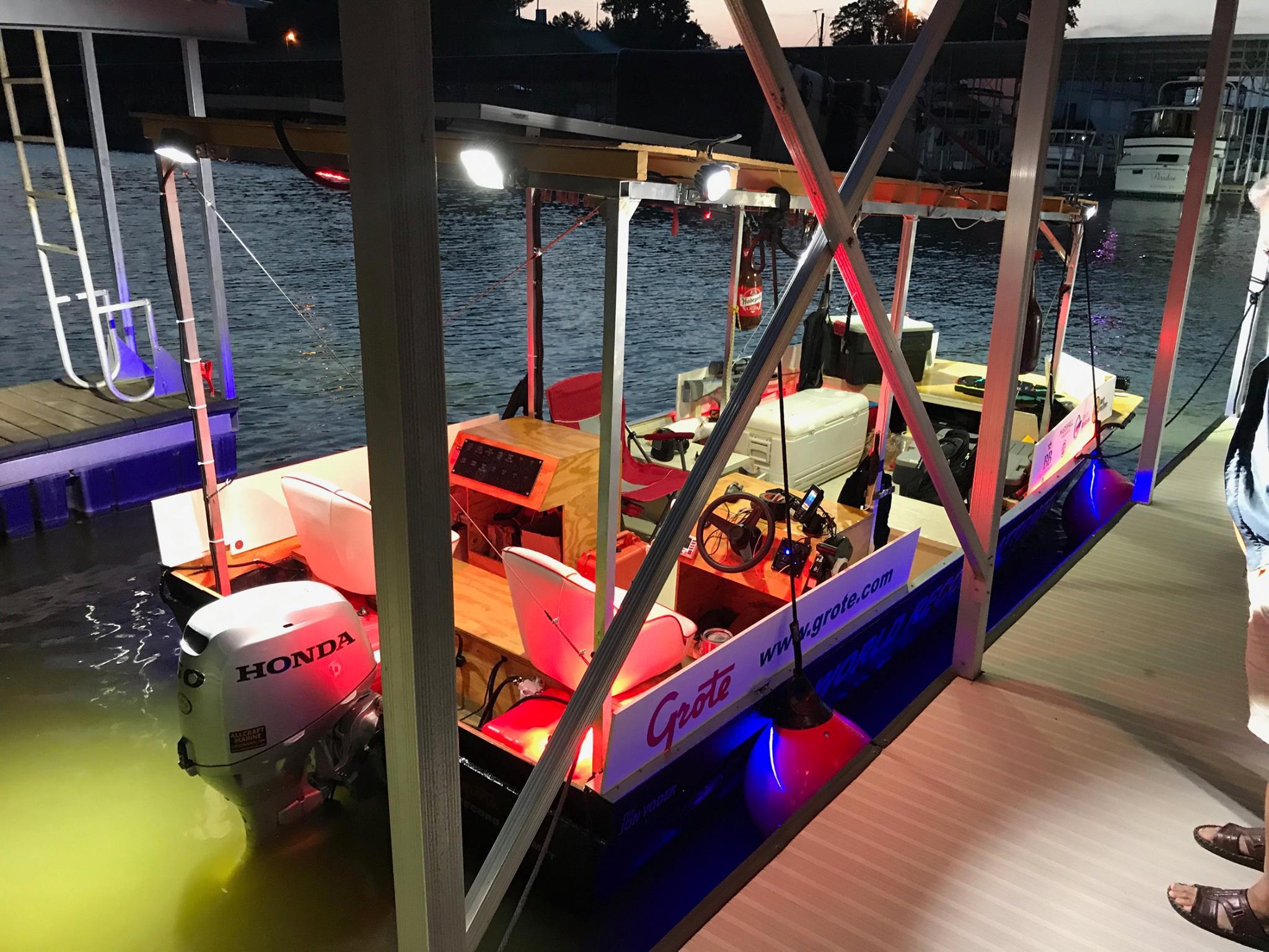The River Record Adventure jon boat, John Yoder
