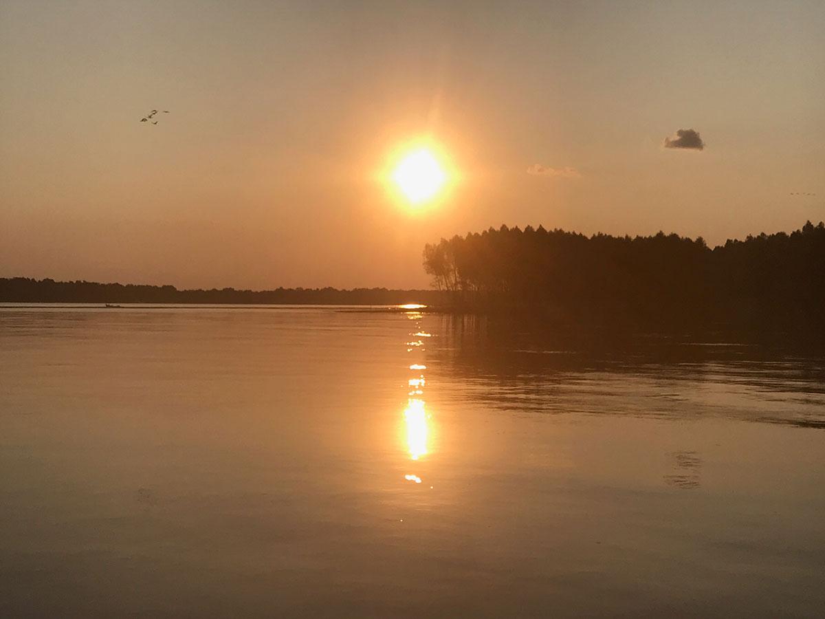 Evening sunset day 15
