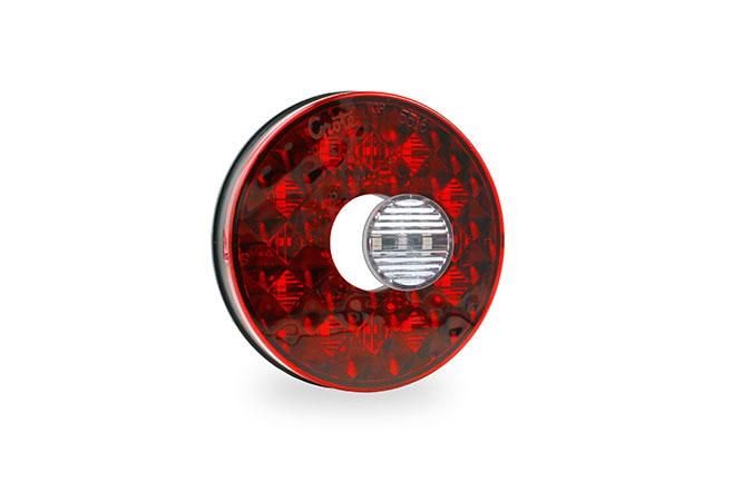 Feux arrêt/arrière/clignotant ovales à DEL de 4 po avec phare de recul