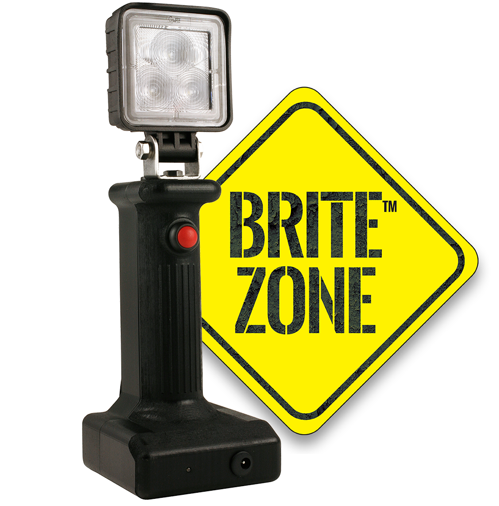 BZ401-5 LED Work Light with BriteZone Logo