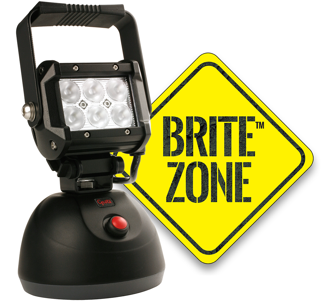 Britezone Bz501 5 Led Work Light Wiring Lights With Logo