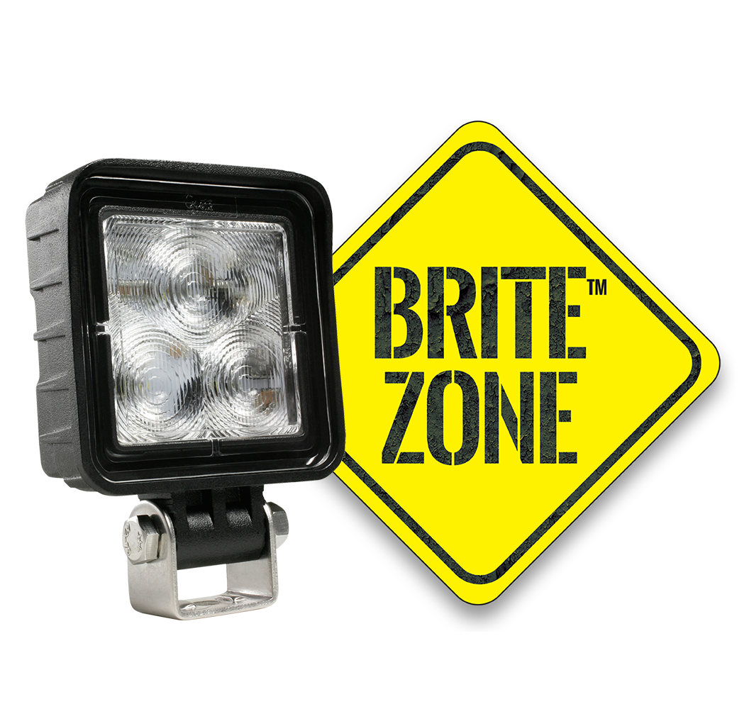 BZ601-5 LED Work Light with BriteZone Logo