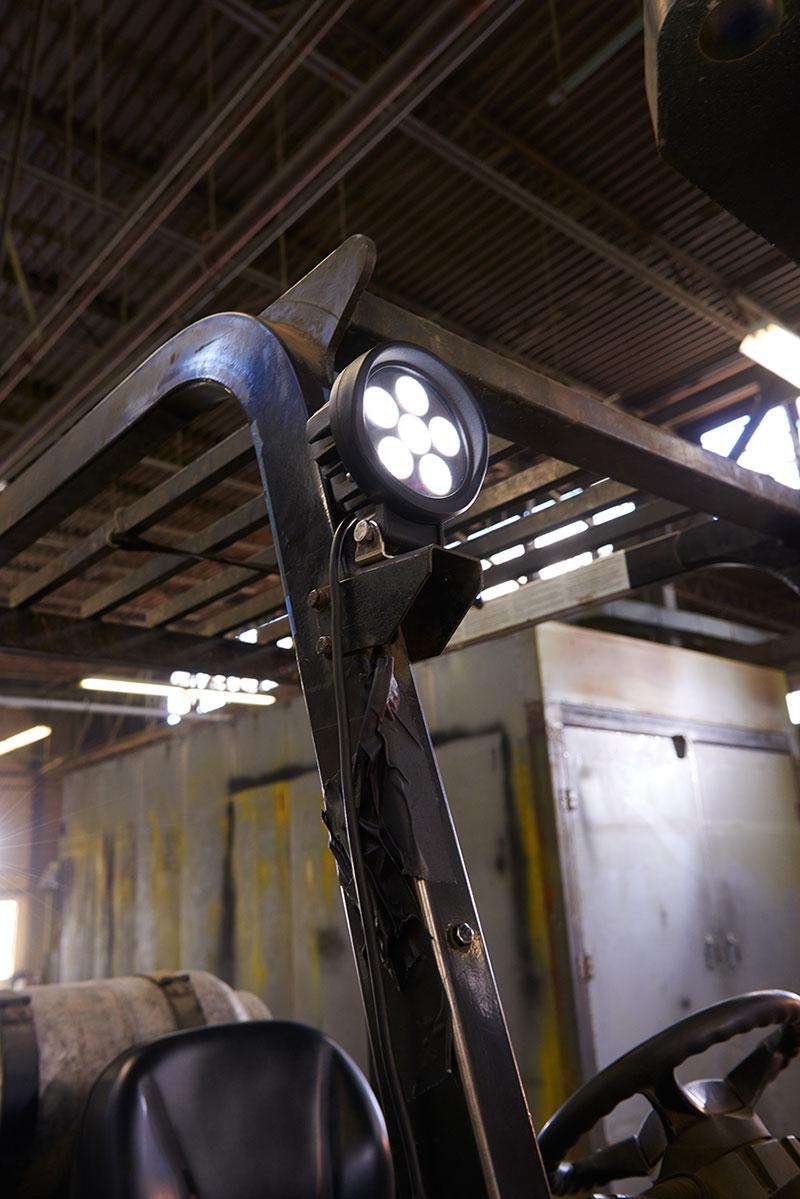 BriteZone LED Work Light on Tow Motor