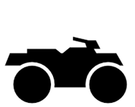 Black ATV Icon