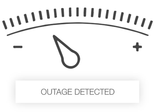 trailer light outage detection icon