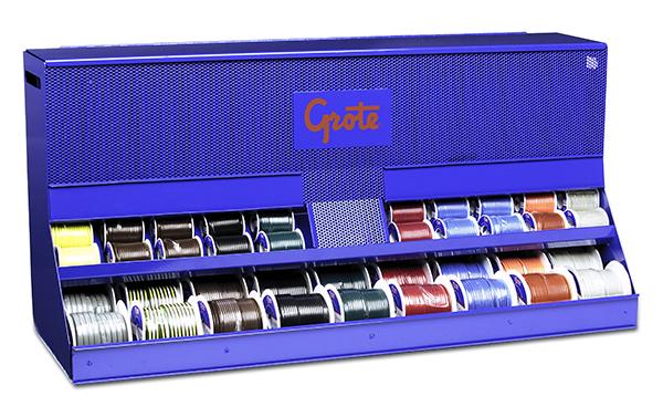 Dispensador de cables primarios, Exhibidor para la venta al por menor, 132 unidades