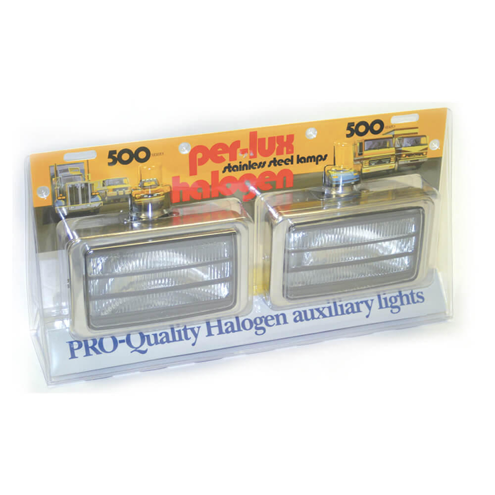 All Weather Per-Lux® 500 Series Pair Louvered H9421 Pack