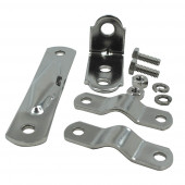"Universal Mounting Kit, w/ ""L"" Bracket"
