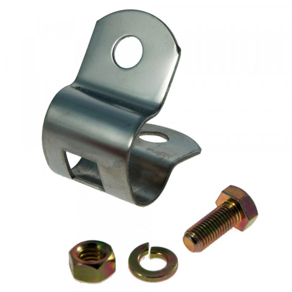 "Tube Clamp, 3/4"" Clamp, 3/8"" Holes"
