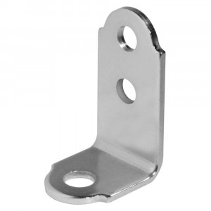 "Through-Hole Style ""L"" Bracket, Stainless Steel"