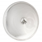 Convex Mirror with Center Mount, Stainless Steel