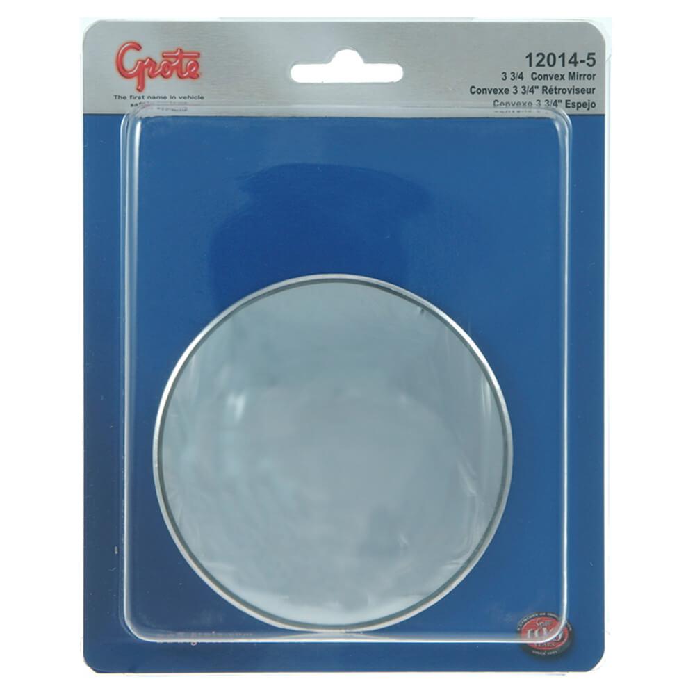 """Stick-On Convex Mirror, 3 3/4"""" Round, Retail Pack"""