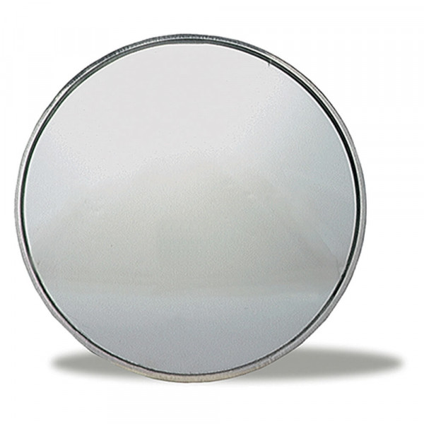 "Stick-On Convex Mirror, 3 3/4"" Round"