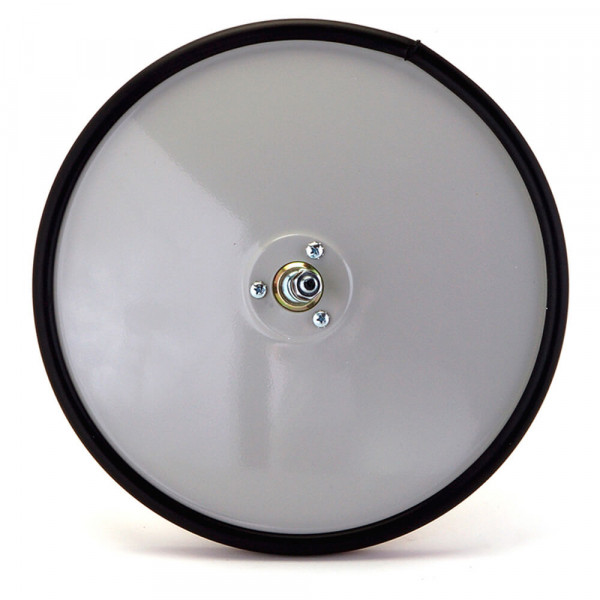Convex Mirror with Center Mount, Gray