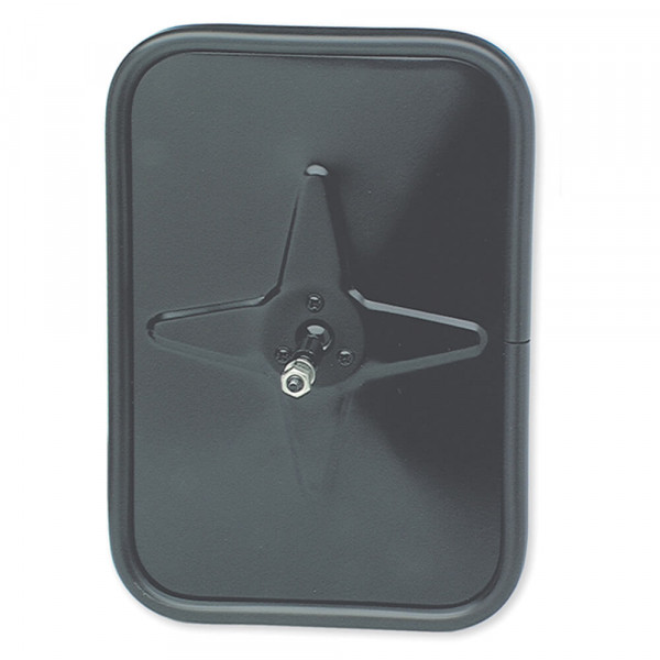 Outer Protective Bumper Mirror, Black