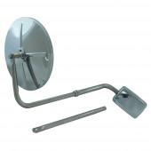 Hood-Mounted Mirror, Stainless steel thumbnail