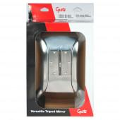 Versatile Tripod Mirror, Stainless Steel, Retail Pack thumbnail