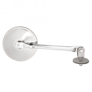 "Adjustable Mirror Assembly, 6"" Mirror, w/ Adjustable Arm Assembly"