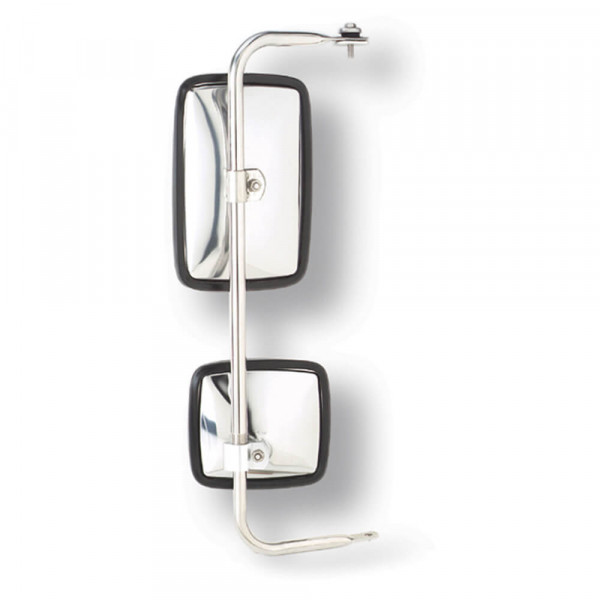 Split Mirror, Stainless Steel