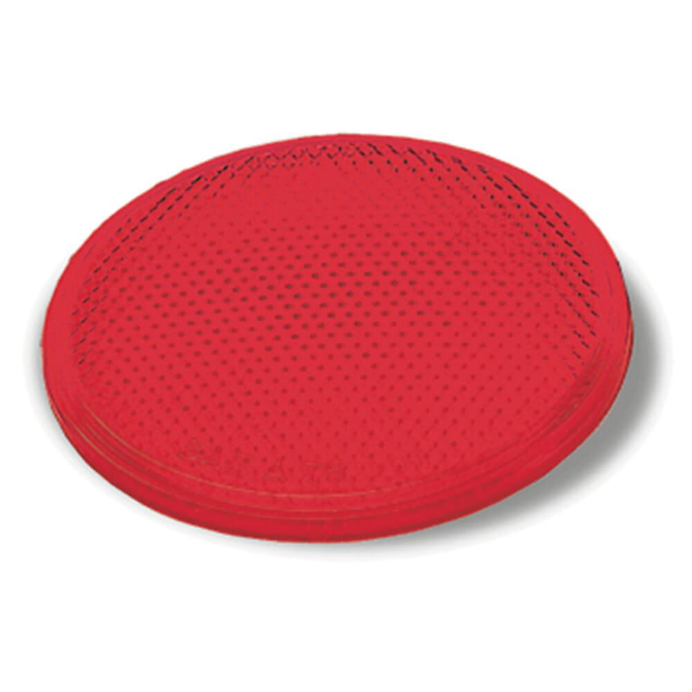 Reflector redondo adhesivo, Rojo