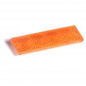 Minireflectores rectangulares adhesivos / de montaje con tornillo, Amarillo thumbnail