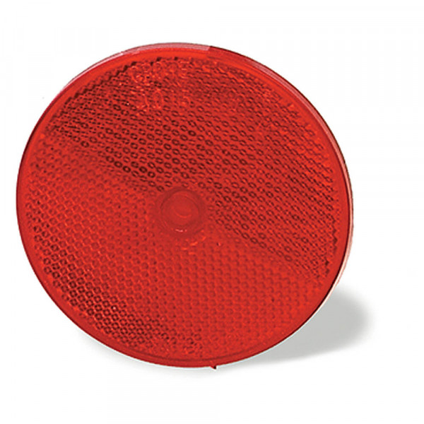 Sealed Center-Mount Reflector, Red