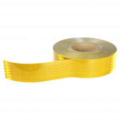 Amber Conspicuity Tape Roll