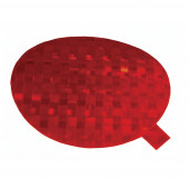 Stick-On Tape Reflectors, Red