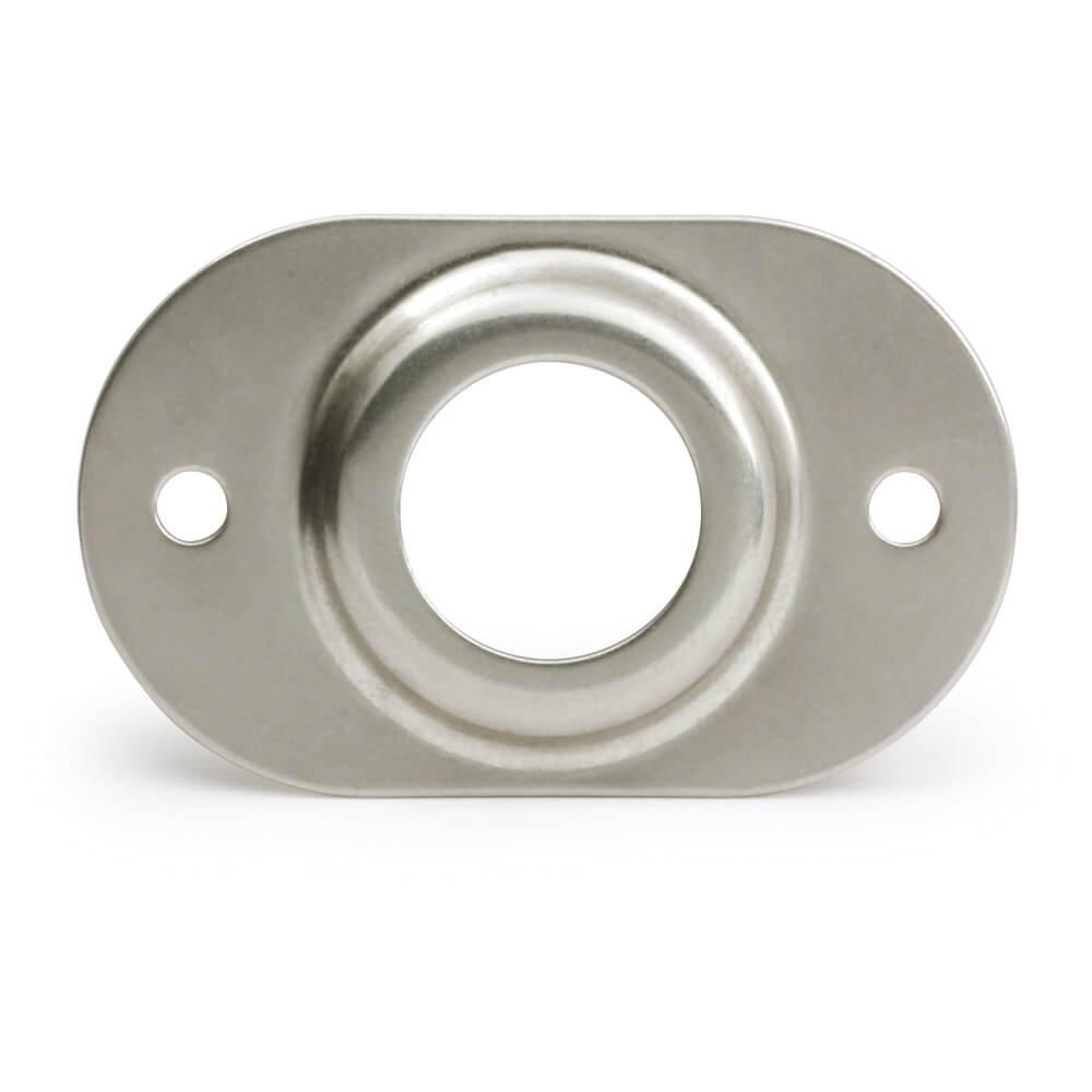 Placa de seguridad de acero inoxidable MicroNova® Dot