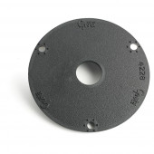 "3.5"" round flange adapter bracket"