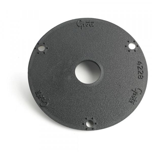 """3.5"""" round flange adapter bracket"""