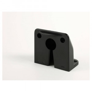 vertical mount micronova dot led license light black bracket