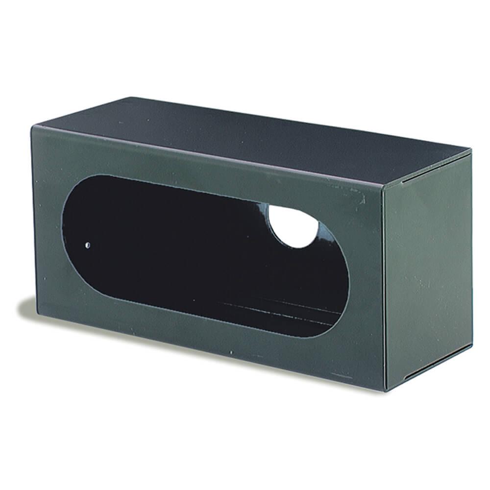 Befestigungsklammer für ovale Leuchten, Schwarz