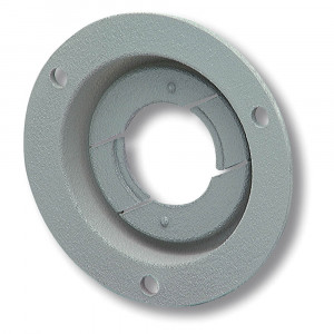"Theft-Resistant Mounting Flange For 2"" Round Lights, Gray"