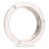 "Theft-Resistant Flange For 4"" Round Lights, Steel"