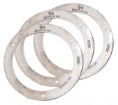 "Security Ring, 4"" Round, Steel, Bulk Pack thumbnail"