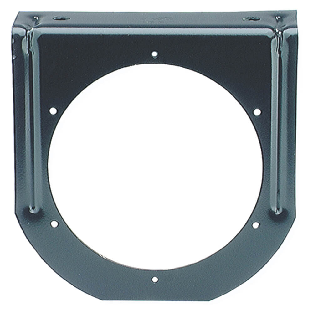 """Mounting Bracket For 4"""" Round Lights, 90° Angle, Black"""