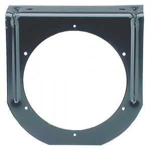 "Mounting Bracket For 4"" Round Lights, 90° Angle, Black"