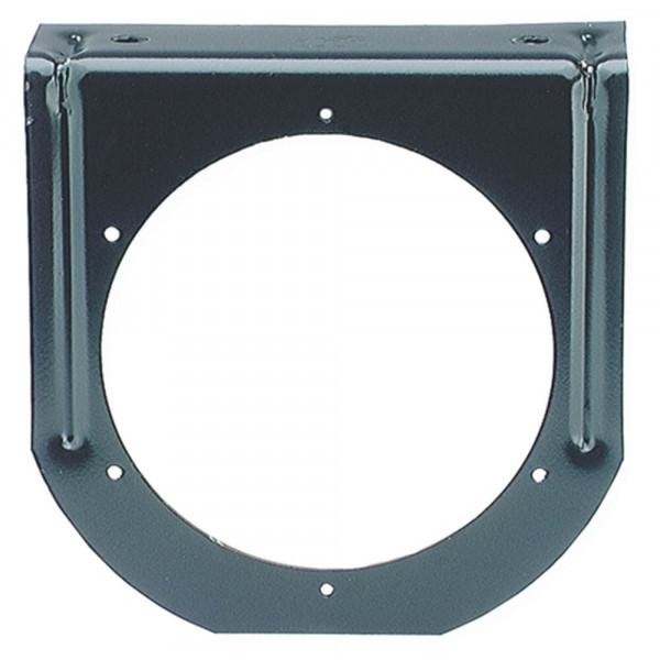 Befestigungsklammer für runde 4″-Leuchten, 90°-Winkel, Schwarz