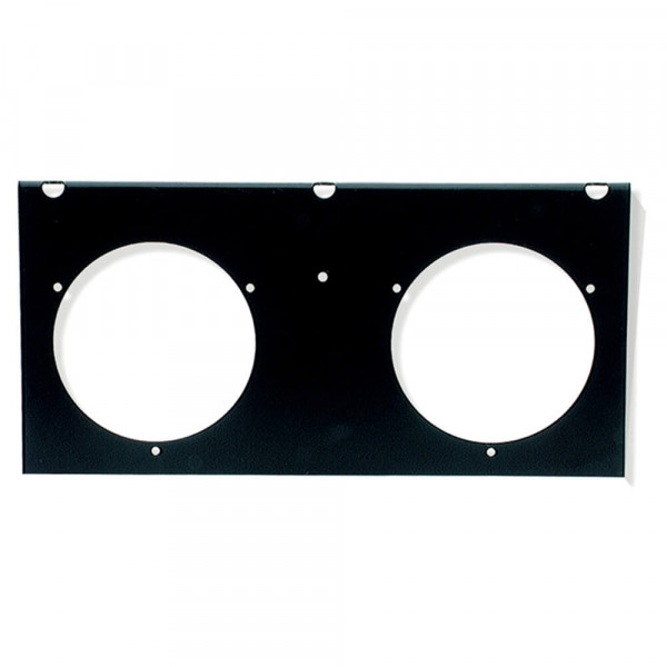 "2-Light Mounting Module For 4"" Round Lights, Black"