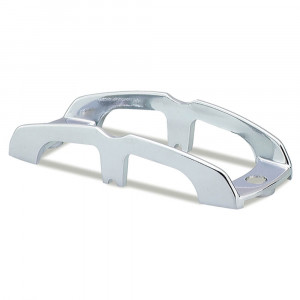 Chrome Buttress-Style Light Guard, Chrome Plated