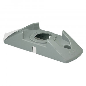 Twist-In Surface Mount Bracket, Gray