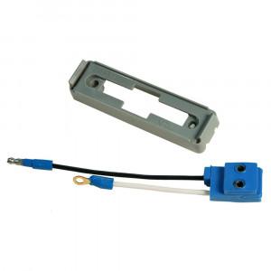 Befestigungsklammer für große, rechteckige Leuchten, Graues Kit (43780 + 66980)