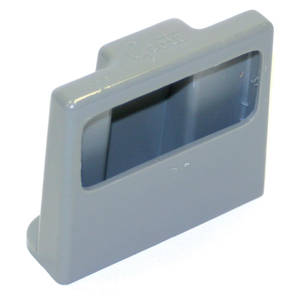Befestigungsklammer für Kennzeichenleuchten, Grau